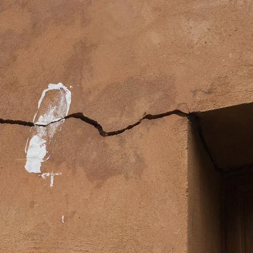 Expertise fissure maison bâtiment : Fissures