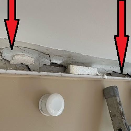 Expertise fissure - Lézarde mur porteur
